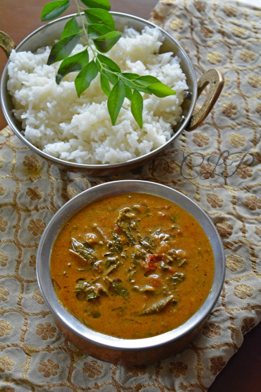 Fenugreek leaves South Indian Curry