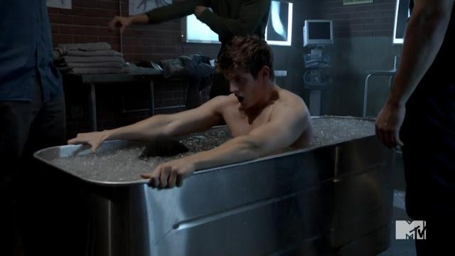Male Celebs Naked: Daniel Sharman Shirtless in Teen Wolf ...