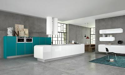 Doimo, en lascocinasdetomas - Moda en la cocina - cocina con isla
