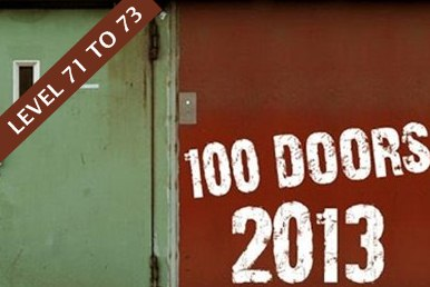 100 Doors 2013 Answers Level 71 72 73