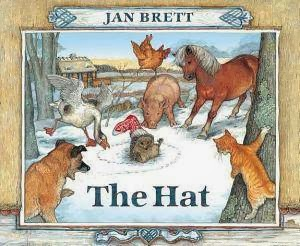 http://www.amazon.com/The-Hat-Jan-Brett/dp/0399234616/ref=pd_sim_b_1