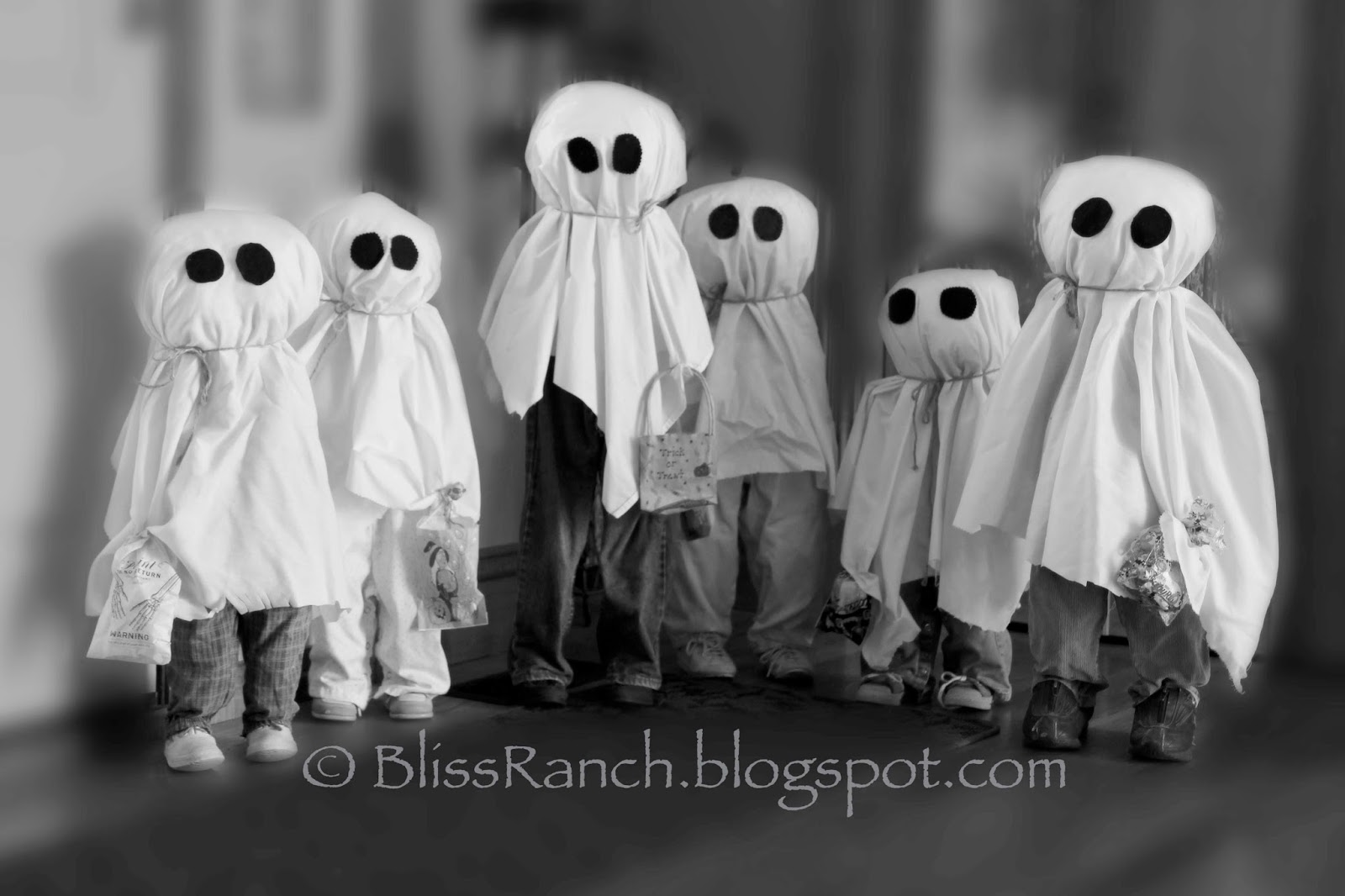 Bliss-Ranch.com How to Make Little Ghosts