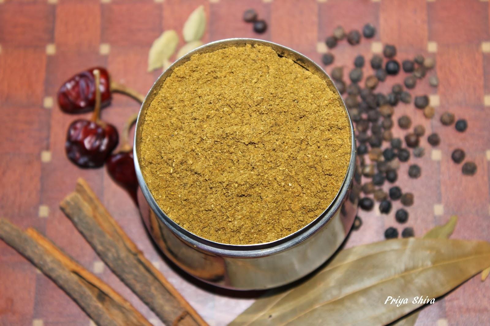 Homemade garam masala - Garam masala recette ...