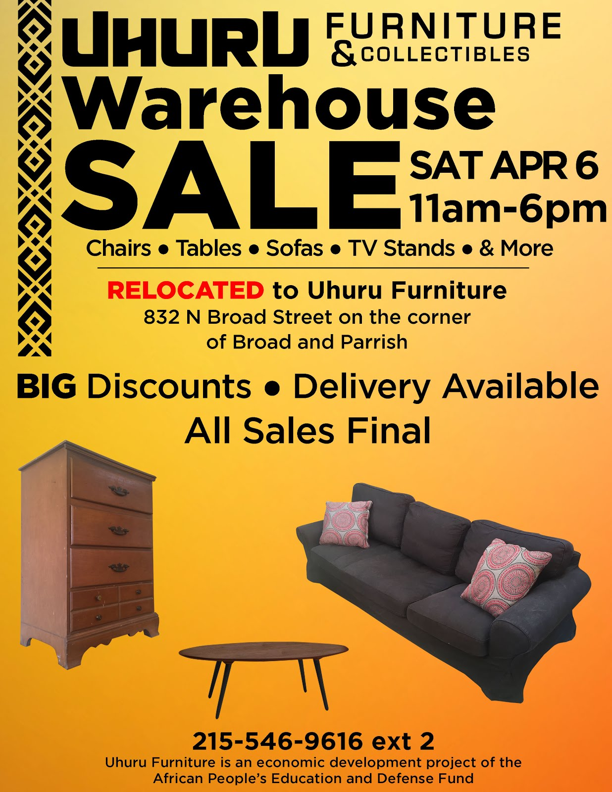 Next Warehouse Sale: