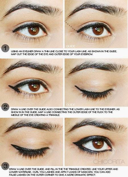 Step by Step Eyeliner