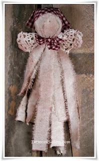 Primitive Rag Doll Angel