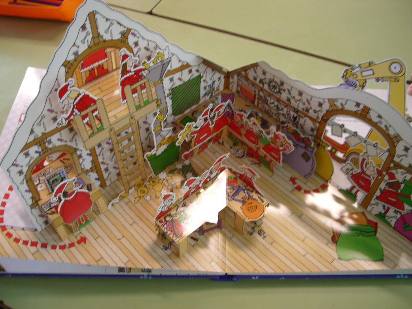 El buz n animado la fabulosa casa de pap noel - La casa de papa noel alicante ...