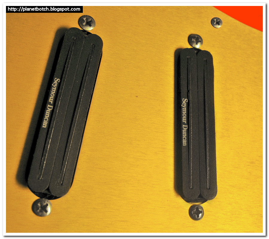Seymour Duncan Hot Rails Pickups 1990s