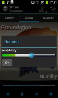 Sensor Music Player
