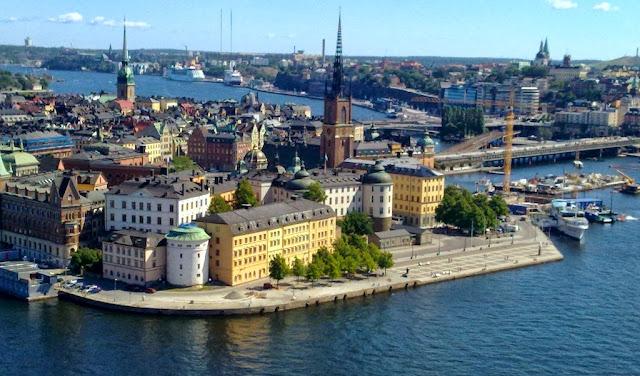 De turismo por Estocolmo, Suecia