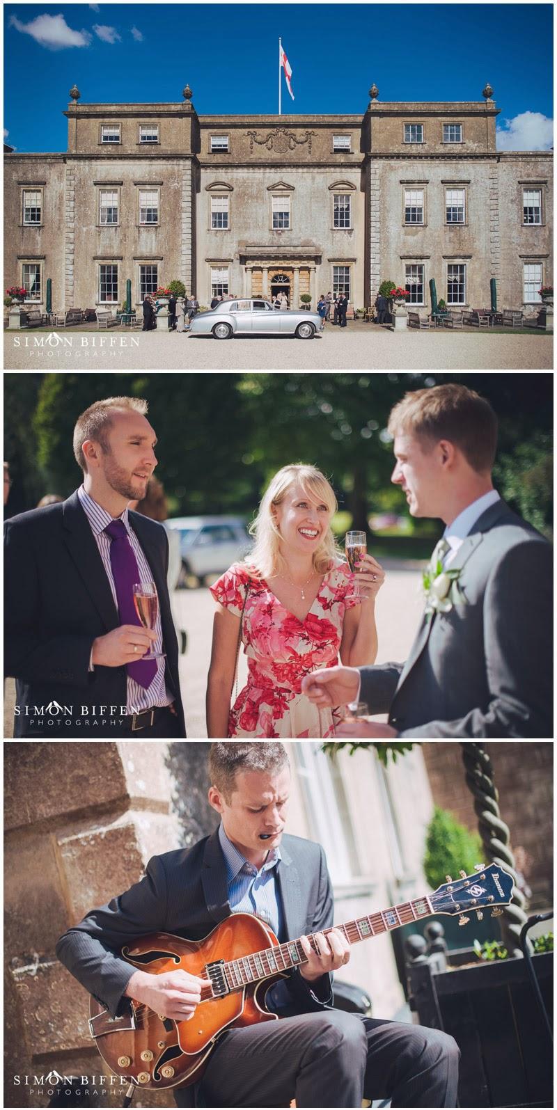 Wedding reception at Ston Easton Park