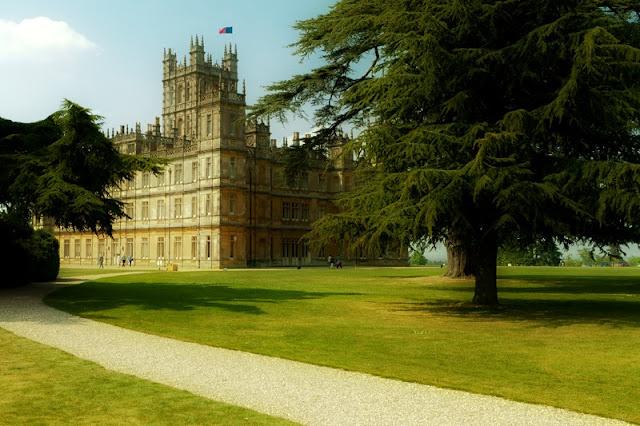 Le modeste château de Downton Abbey