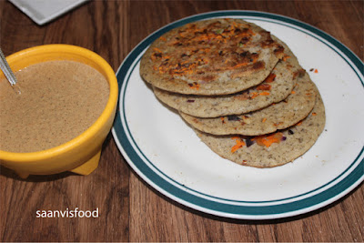 Vegetable Uttapam ~ Using Split Black gram with skin and Brown Rice