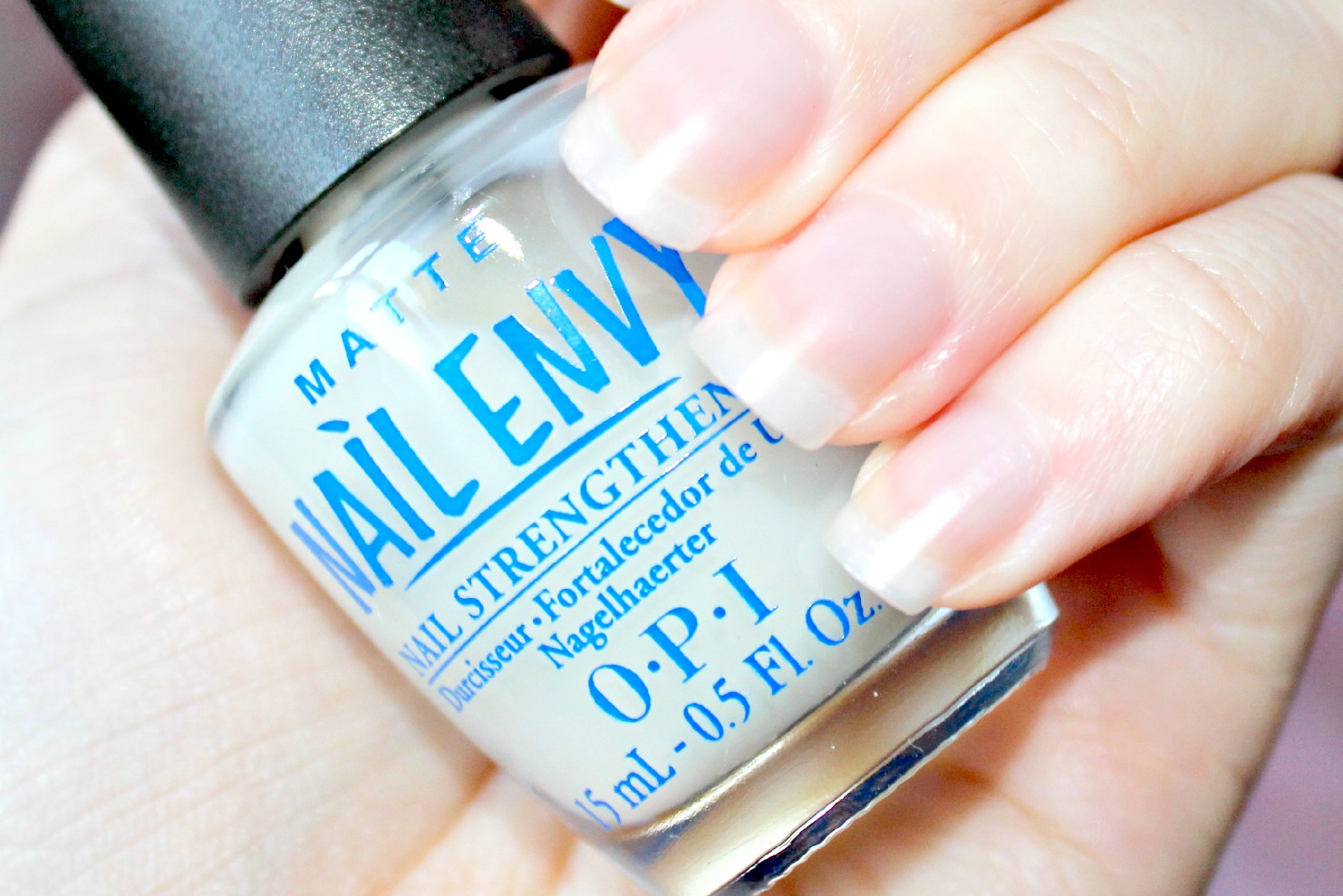 Review Opi Nail Envy Matte