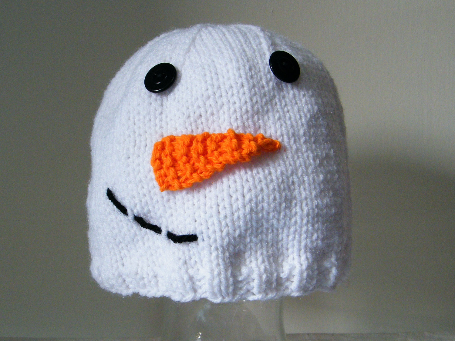 Snowman Hat Knitting Pattern : Lewis Knits: August 2012