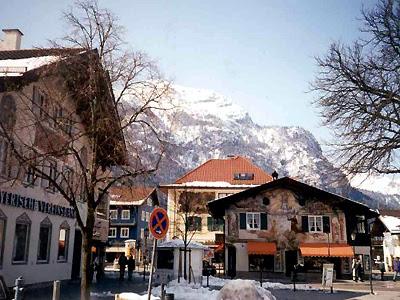 Han søker å Garmisch