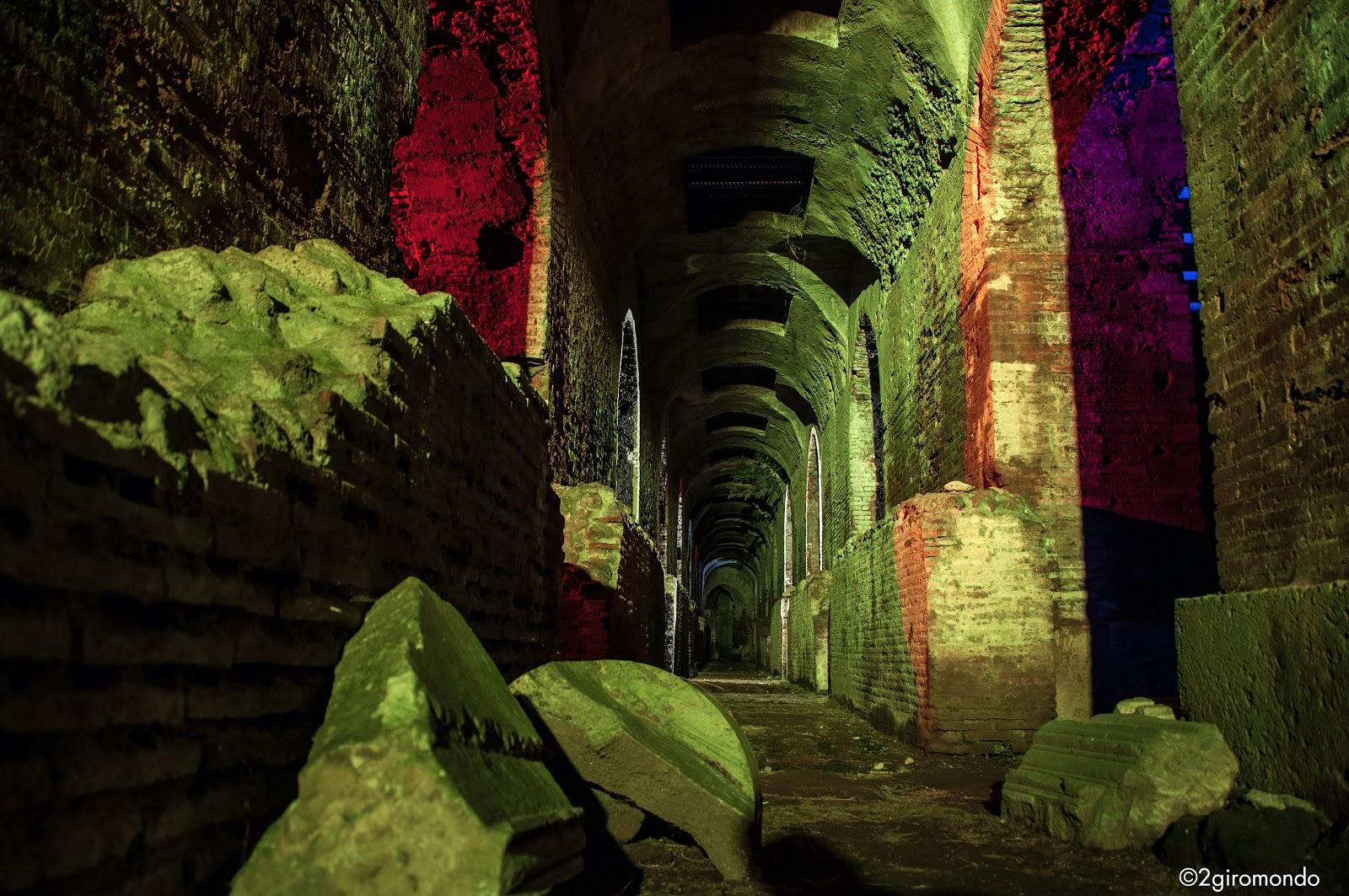 Percorsi di luce Anfiteatro