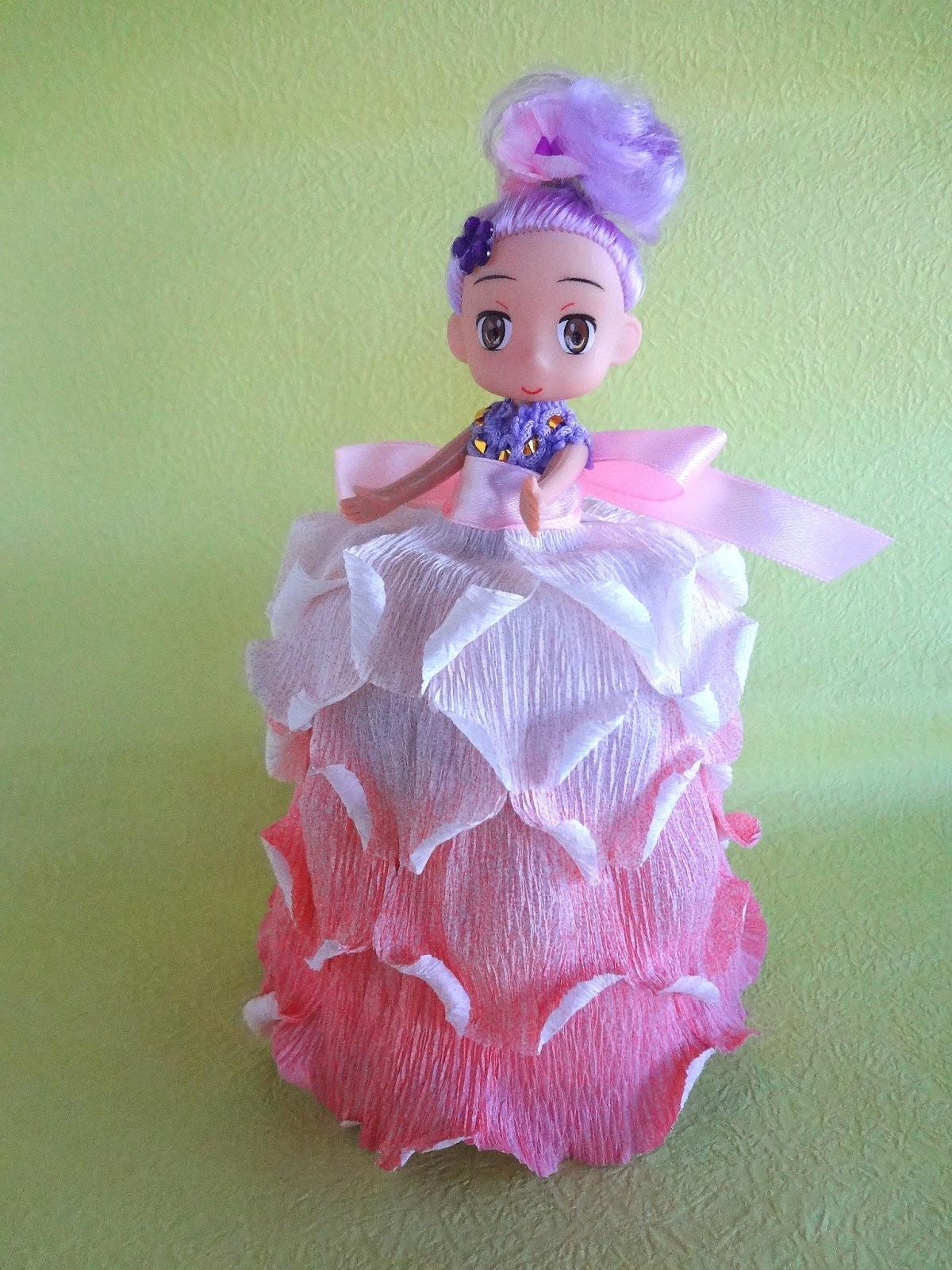 Как сделать юбка из гофрированной бумаги