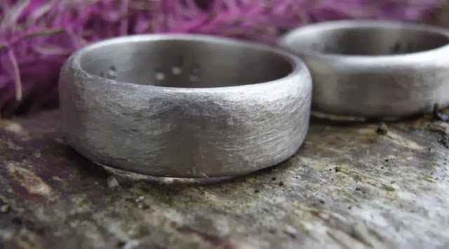 ethical 18ct white gold wedding rings