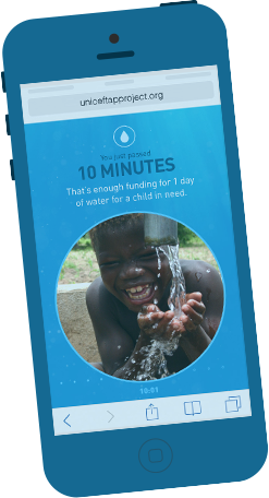 UNICEF, water, social good