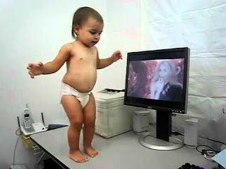 Baby Dance On The Song Of Shakira