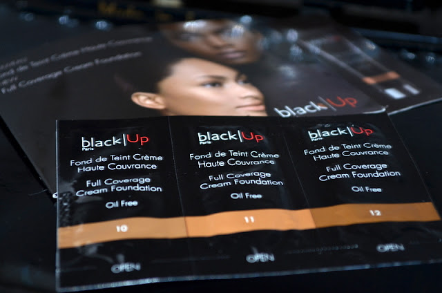 Blackup paris full coverage foundation samples kit