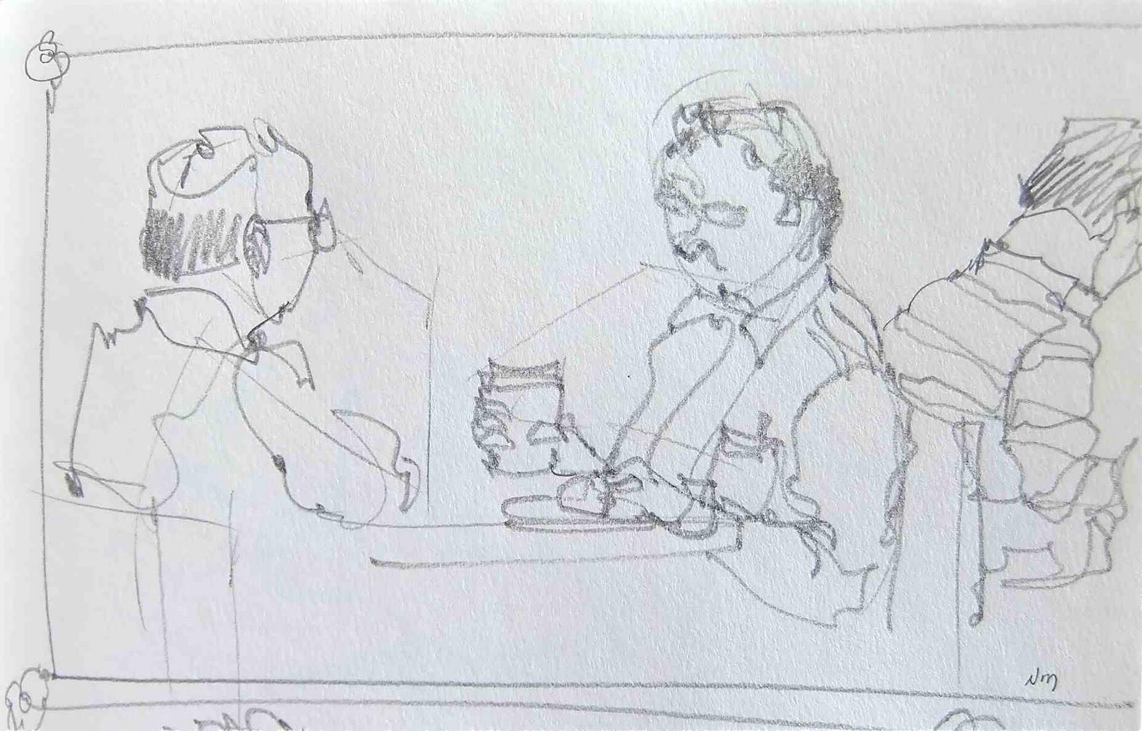 Line Drawing Pencil : Nora macphail artist november