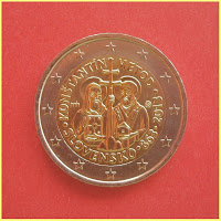 2 Euros Eslovaquia 2013