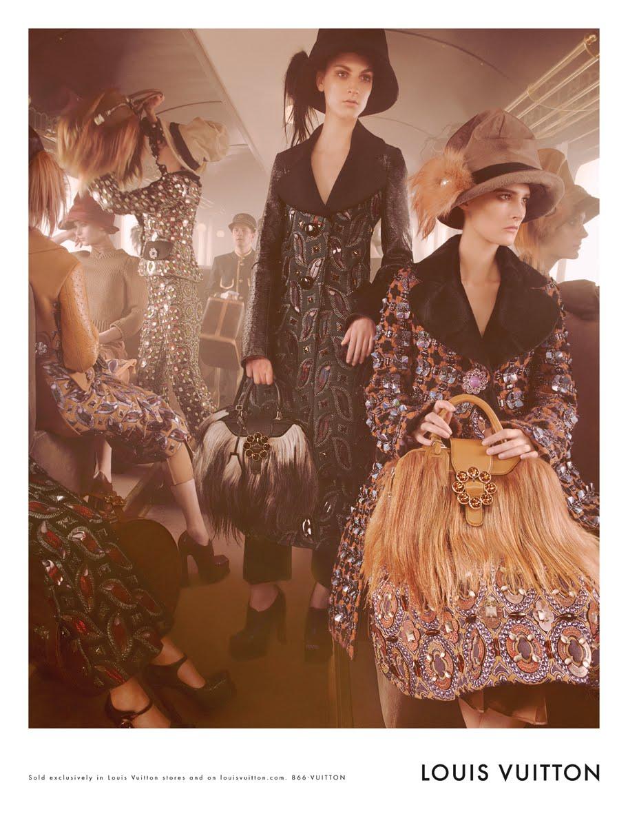 Campaña publicitaria Louis Vuitton Otoño/Invierno 2012-2013