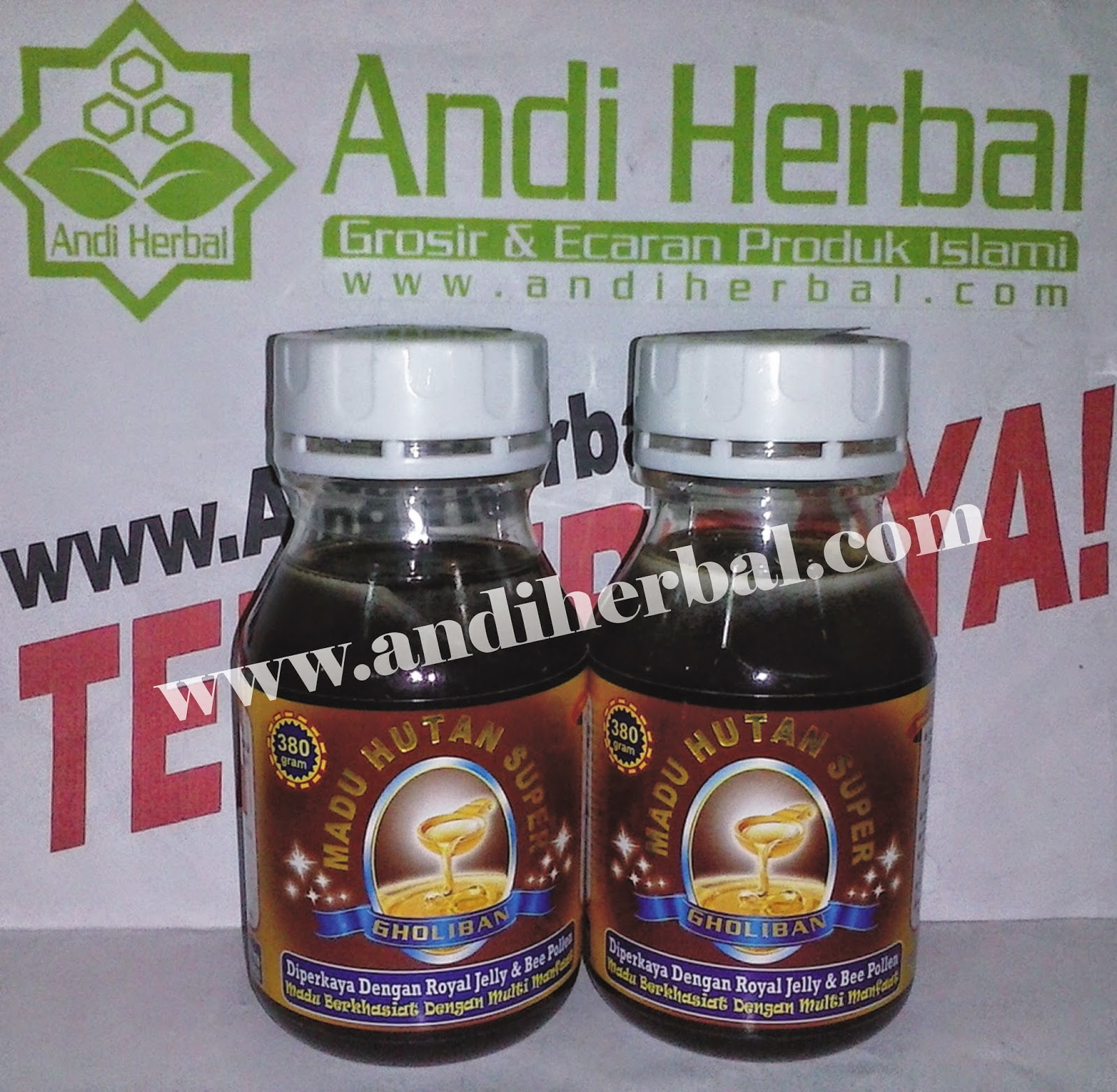 Madu Hutan Super Gholiban 350 gr Andiherbal.com