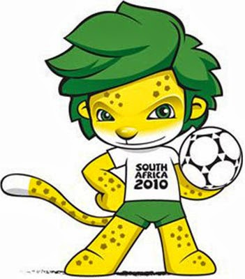 Zakumi Maskot Piala Dunia 2010 Afrika Selatan