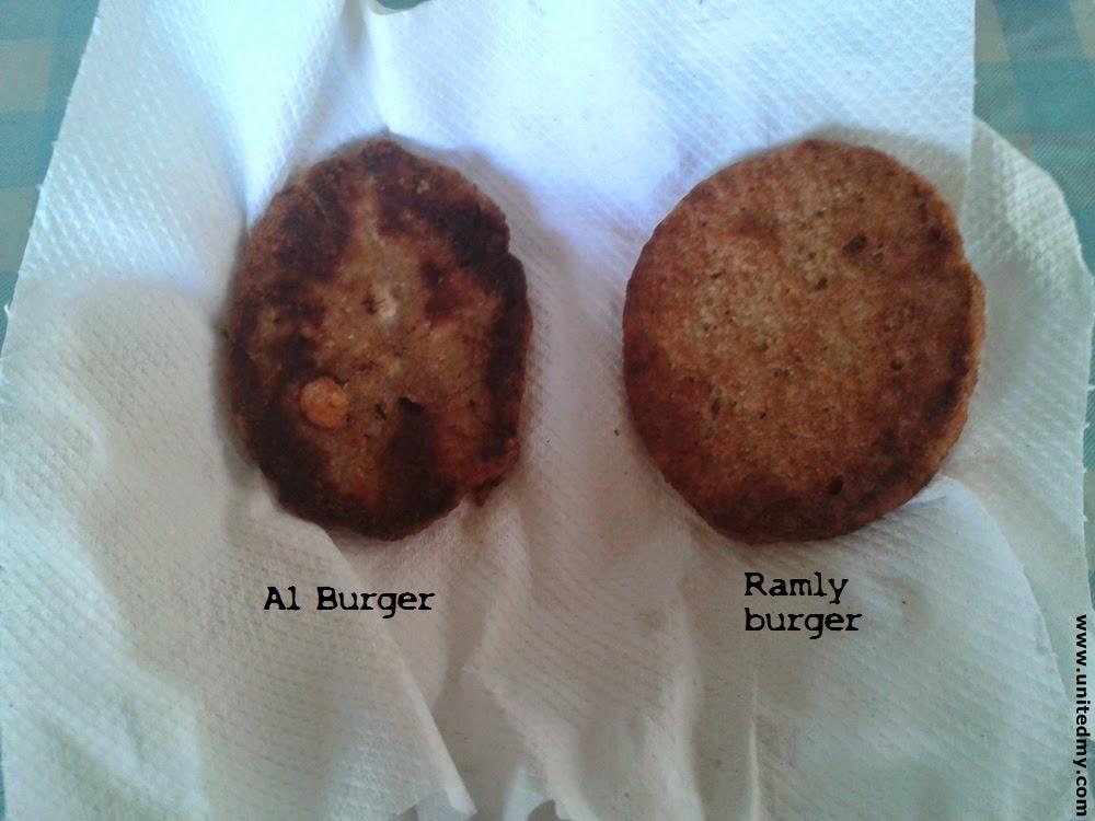 A1 burger vs Ramly burger Malaysia