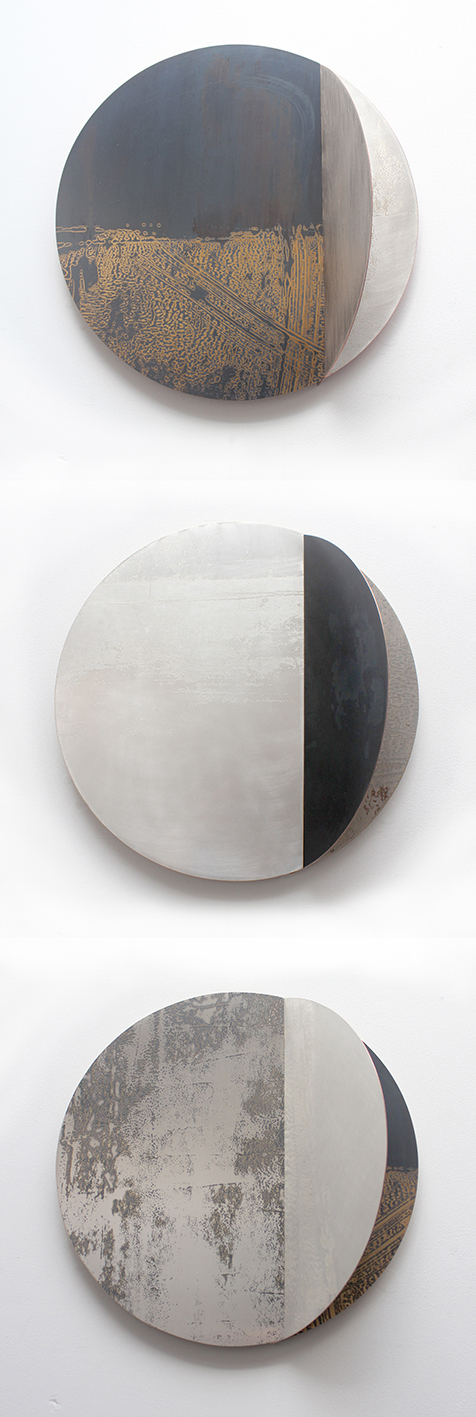 Rebecca Gouldson Metal Art: New Sculptural Wall Pieces For SOFA Chicago 2015