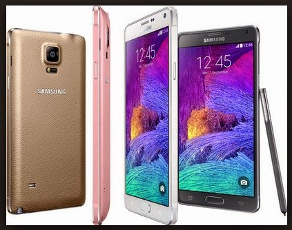 Harga Samsung Galaxy Note 4 Prosesor Quad-core 1.3 GHz