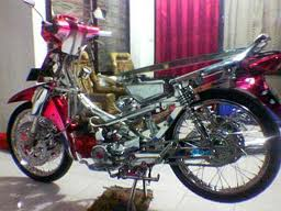 Modifikasi Motor Supra Fit title=