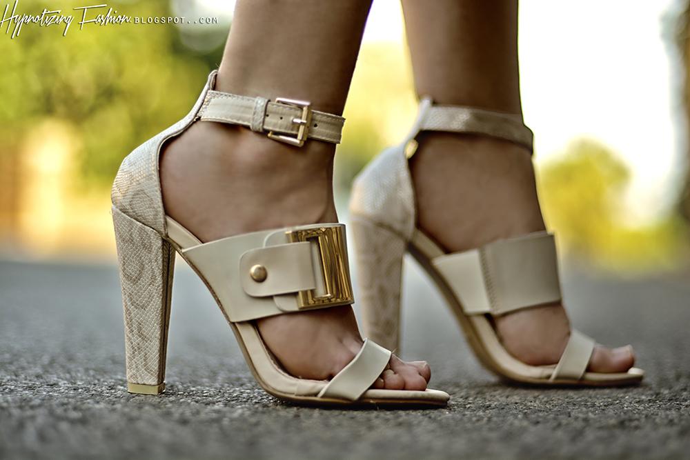stylizacje sandały na obcasie