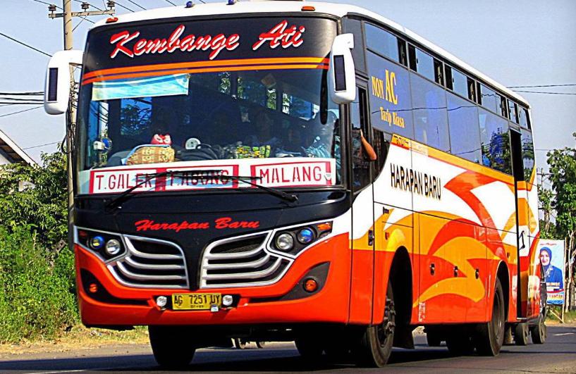 Jadwal Keberangkatan Bus Harapan Baru Trenggalek ~ Malang ~ Banyuwangi