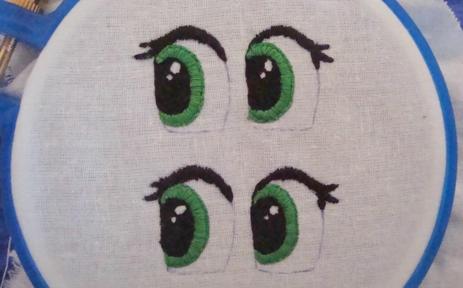 Как сделать глазки для игрушек своими руками из ниток