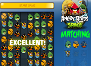Angry Birds Space Matching