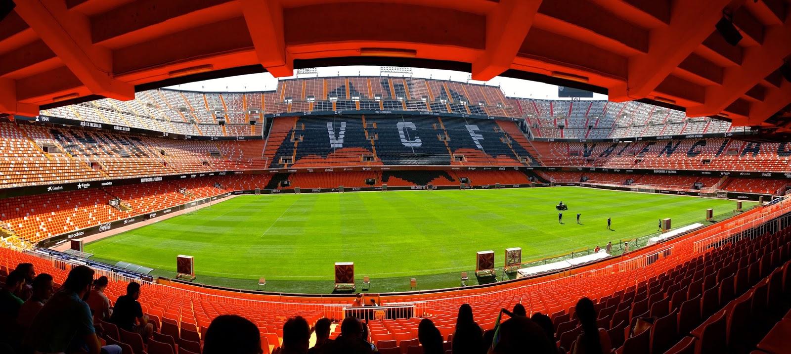 Fotos de mestalla - Campo de futbol del valencia ...