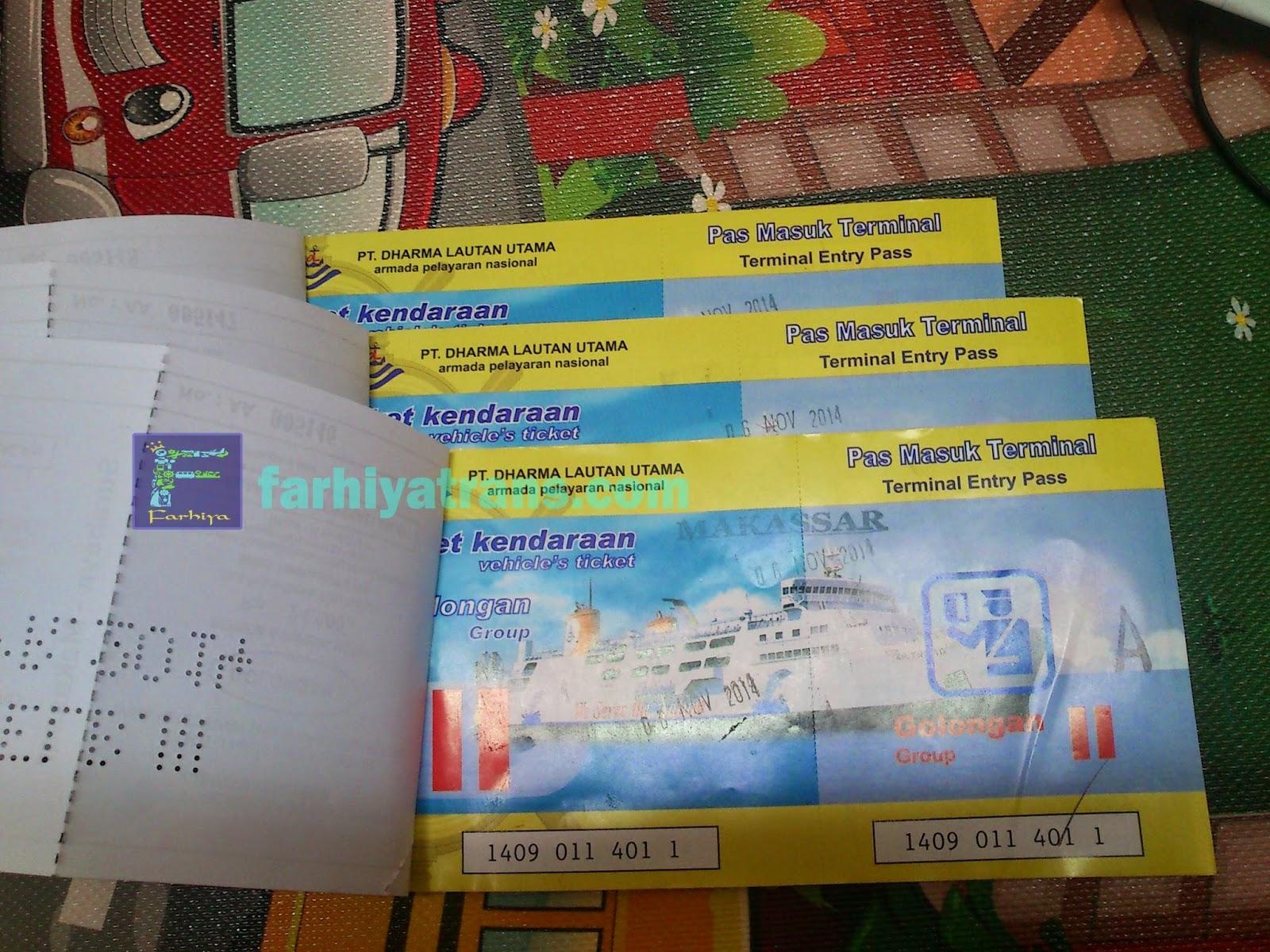 tiket kapal roro pengiriman sepeda motor surabaya
