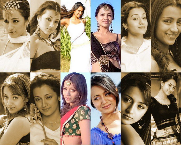 Trisha Krishnan Trisha+3