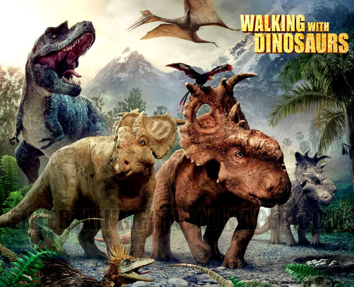 walking with dinosaurs hd wallpaper free high definition