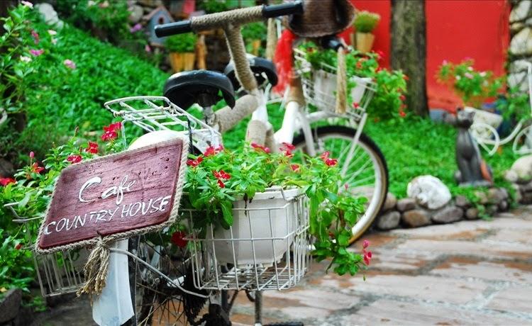 Địa điểm Cafe Country House, cafe Sài Gòn