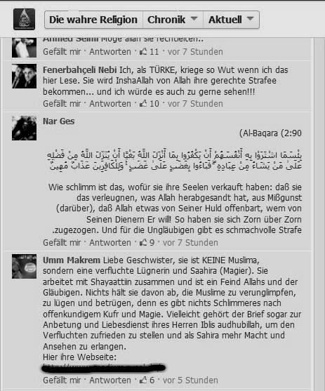 pierre vogel und seine welt: das wahre gesicht der lies!-salafisten, Einladung