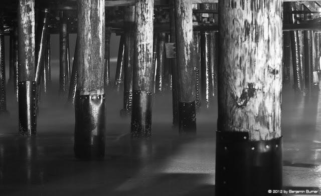Long Night exposure under Pier