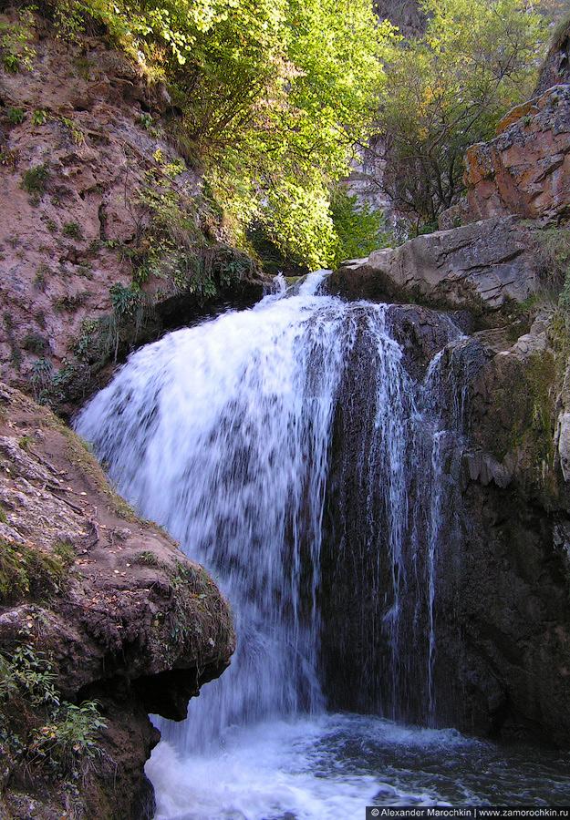 Жемчужный водопад, Медовые водопады