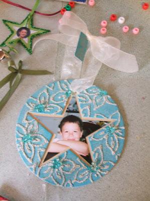 Glass bead ornaments 1