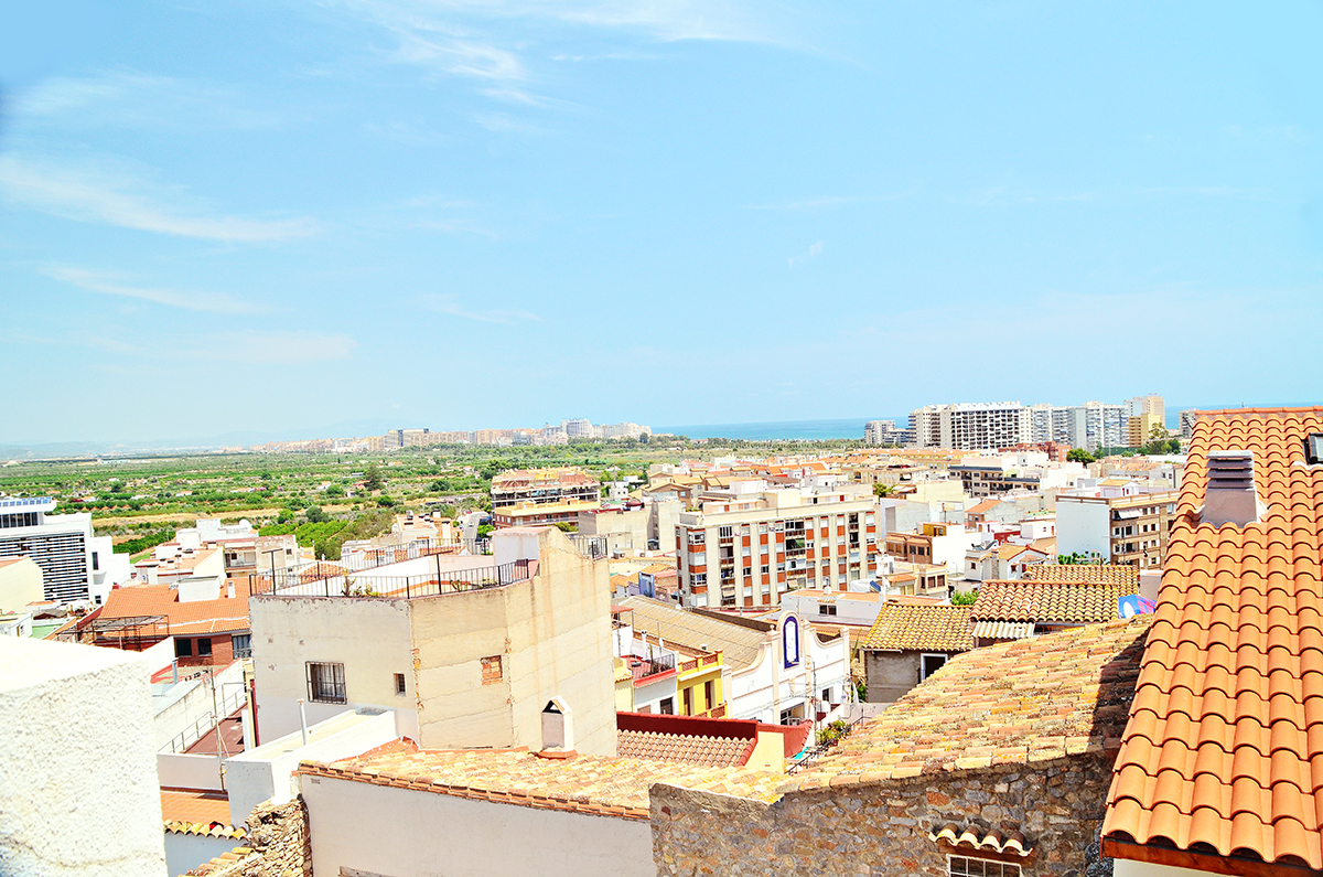 View From Oropesa Del Mar Spain Balconey