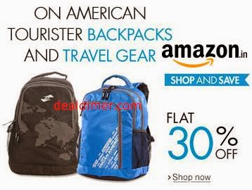 American Tourister upto 55% off